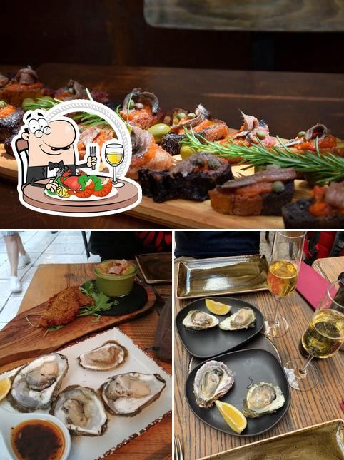 Get seafood at DIOCLETIAN'S WINE HOUSE