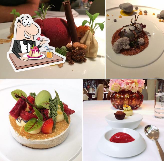 FACIL serves a number of desserts