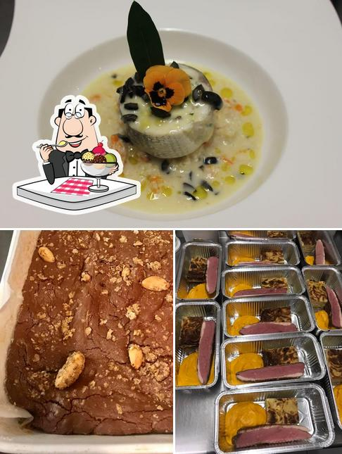 L'Atelier des Saveurs by Stéphane Garcia provides a selection of sweet dishes