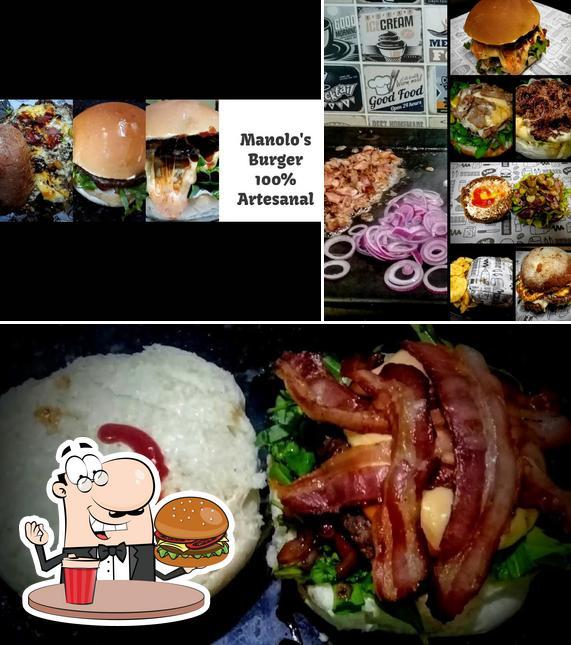 Get a burger at MANOLLO'S BURGER