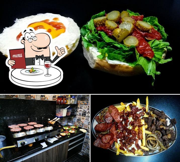 Food at MANOLLO'S BURGER