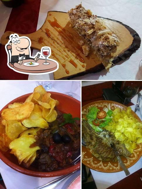 Еда в Maria Rita
