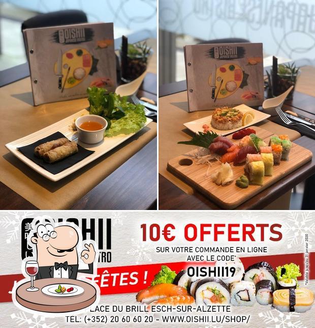 Food at Oishii