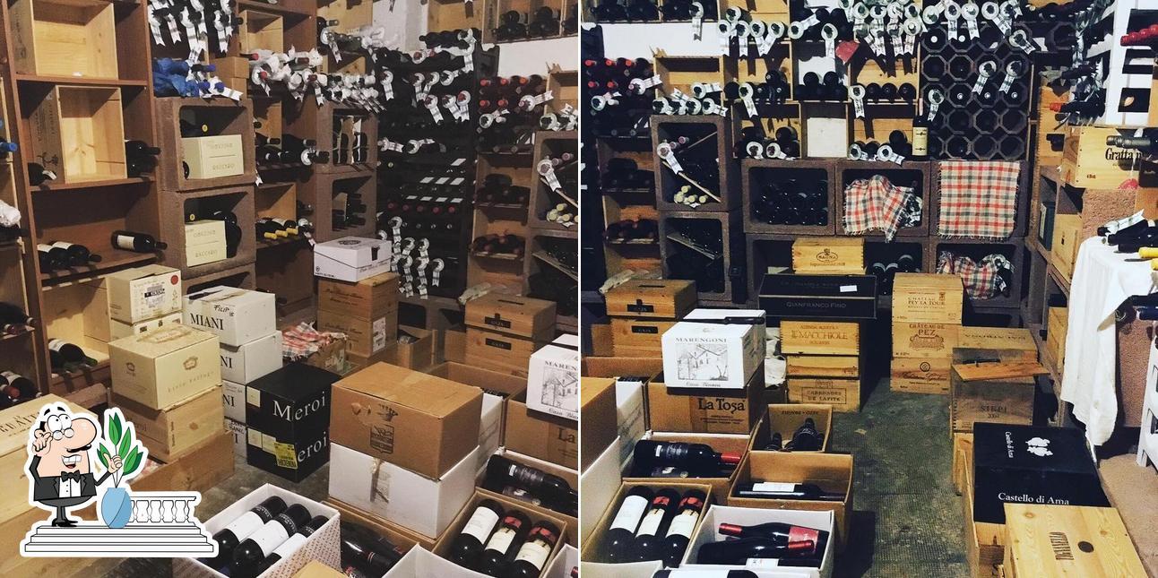 Gli esterni di Osteria Vineria Il Borgo