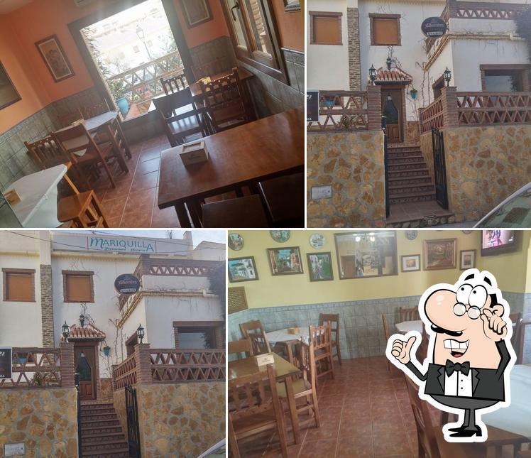 El interior de Pizzería Mariquilla