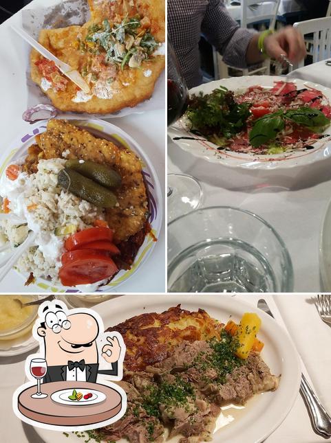 Essen im Rudi's Beisl