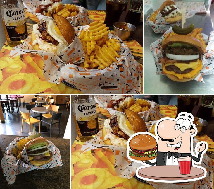 Prueba una hamburguesa en Taxi-Angus