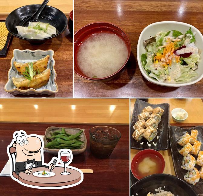 Food at The Sushi Counter