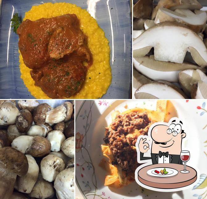 Food at Trattoria San Bernardo