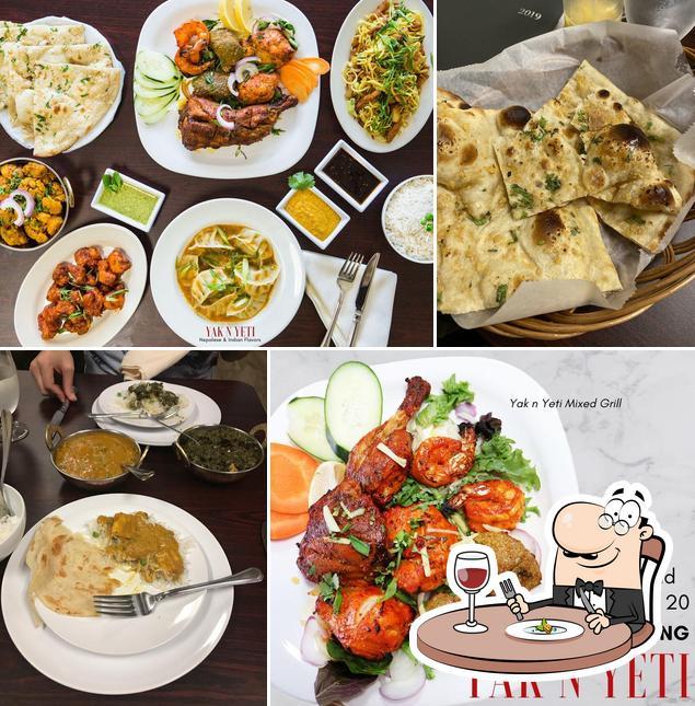 Meals at Yak N Yeti