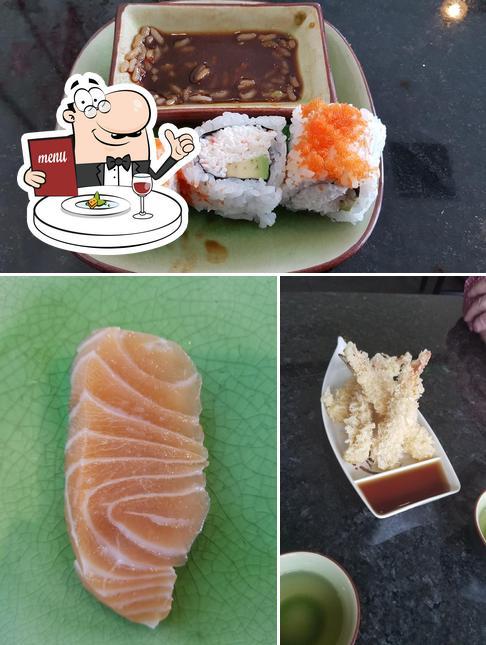 Food at Yume Sushi