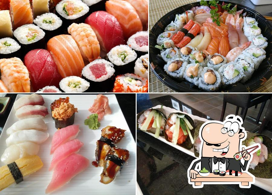 Get various sushi options