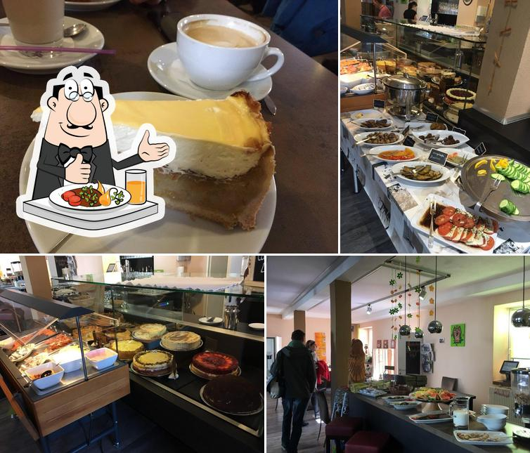Essen im S'Eulen-Café