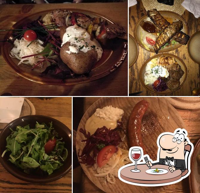 Food at Krčma Šatlava