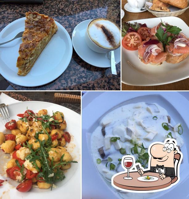 Comida en Restaurant Kostbar