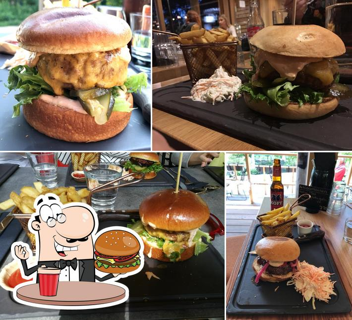 Order a burger at Paseo