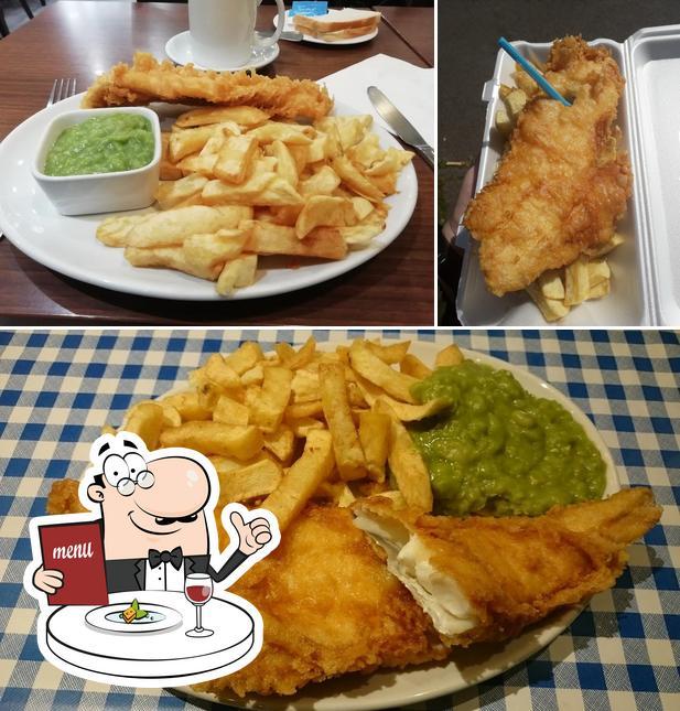 Food at King Street Fish Bar