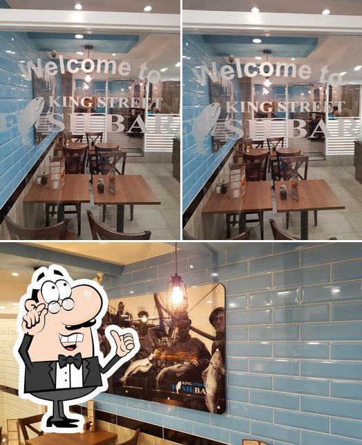 The interior of King Street Fish Bar
