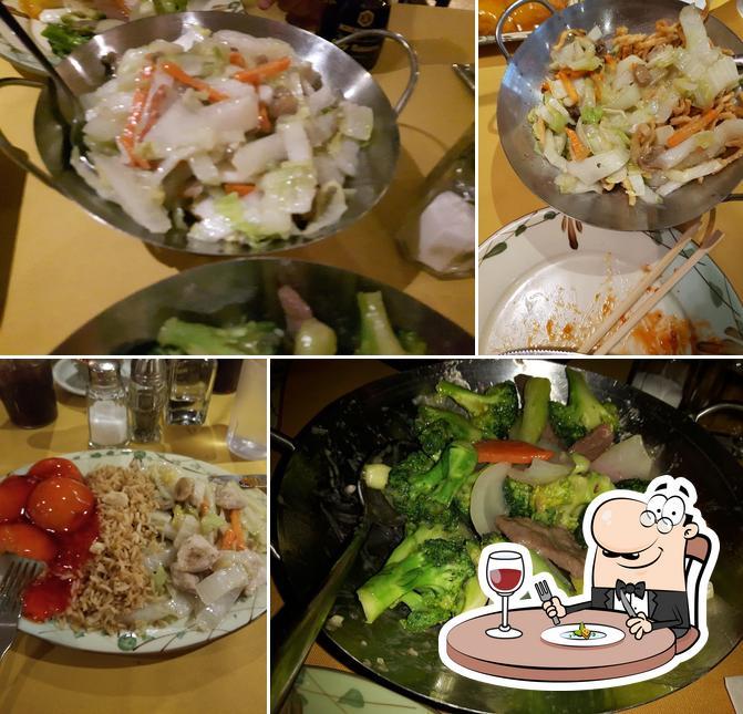 Food at Fortune Restaurant