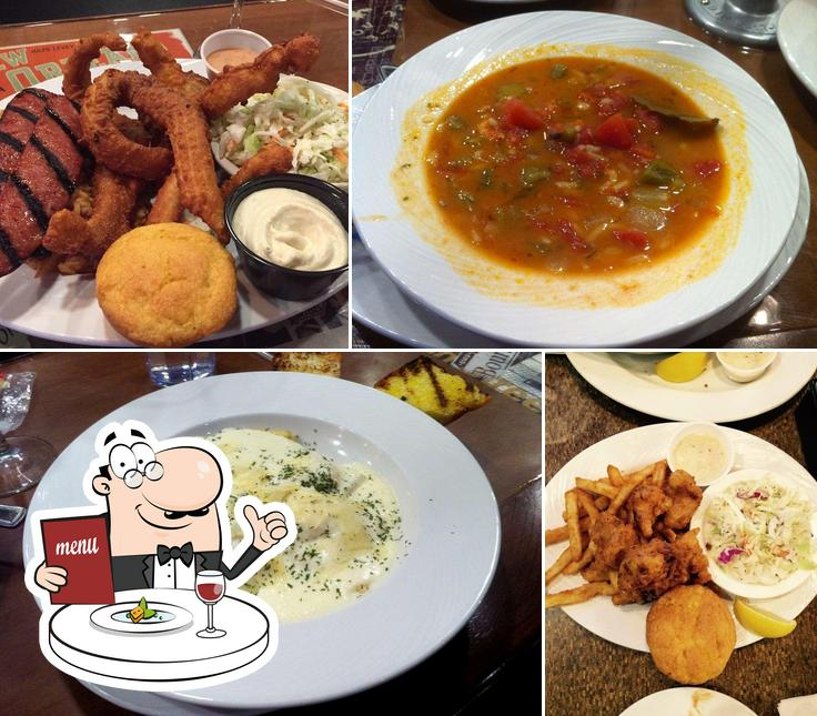 Food at Gulf Shores Restaurant & Grill