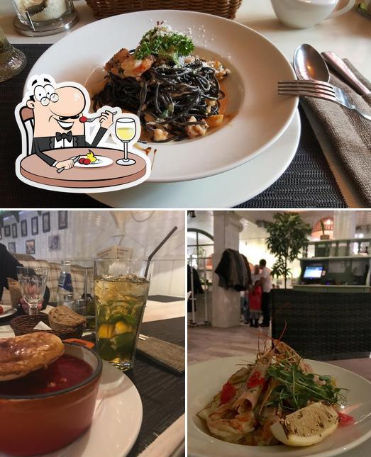 Еда в Траттория Пармезан на Гостиной