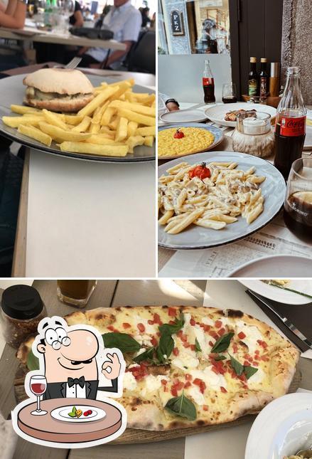 Essen im Bistrot & Pizza Argentino