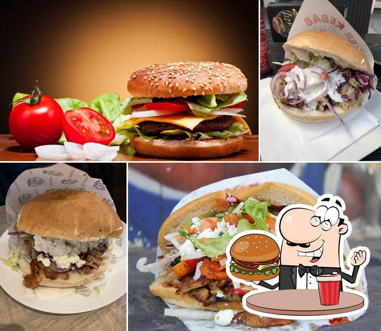 Get a burger at City Kebap