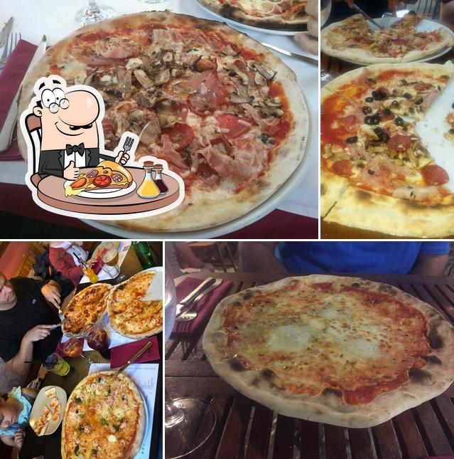 Elige una pizza en El Castell