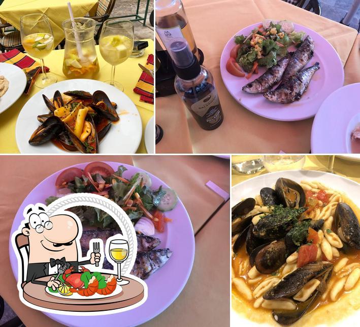 Consiga frutos do mar no Il Tartufo