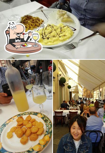 Food at Incrocio Montegrappa