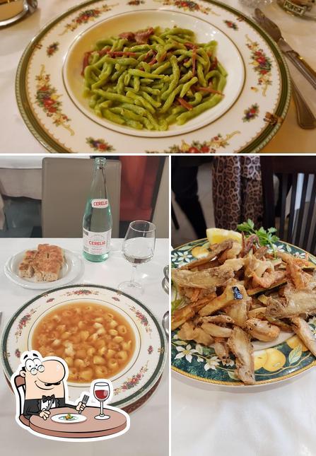 Meals at Incrocio Montegrappa