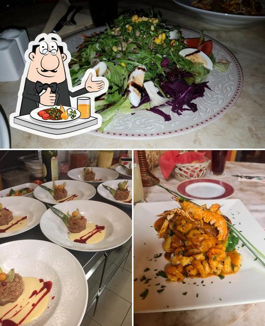 Еда в La Piazzetta