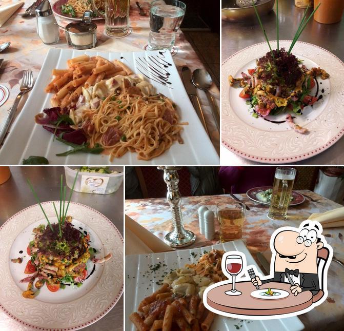 Блюда в La Piazzetta