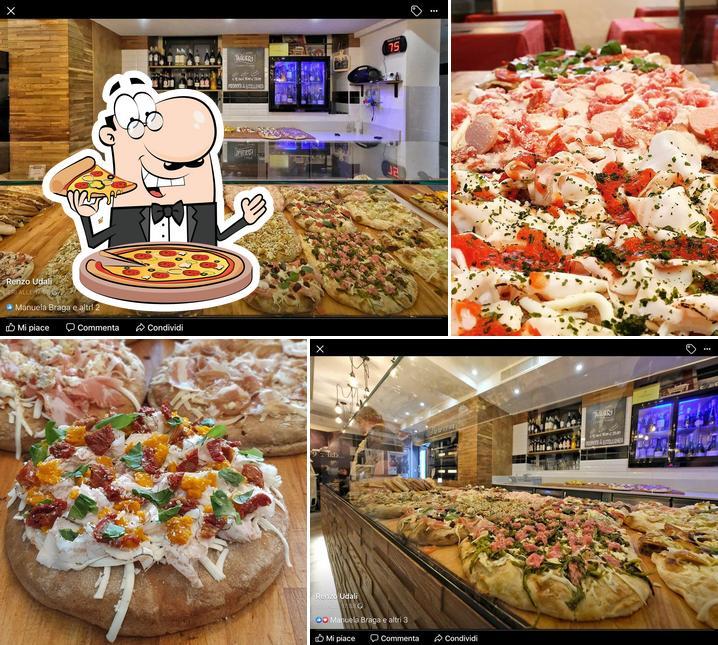 Try out pizza at La Pizza di Paolo & Rosetta