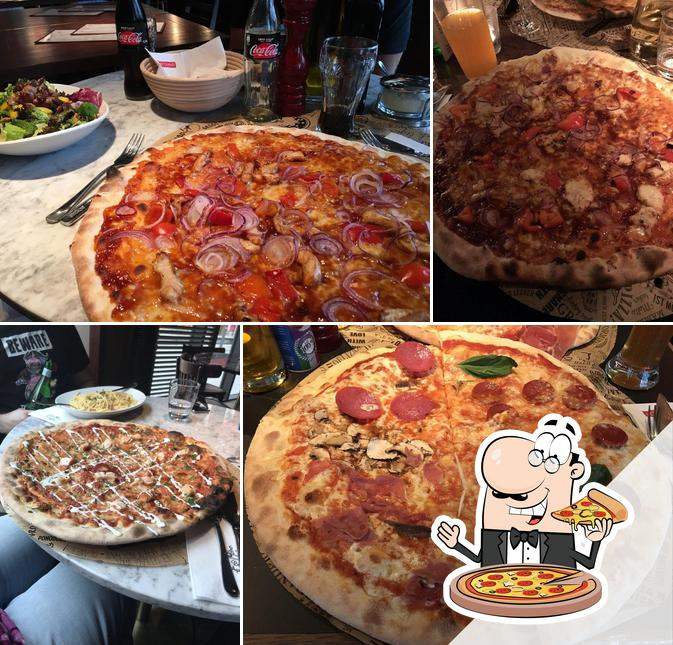 Get various kinds of pizza