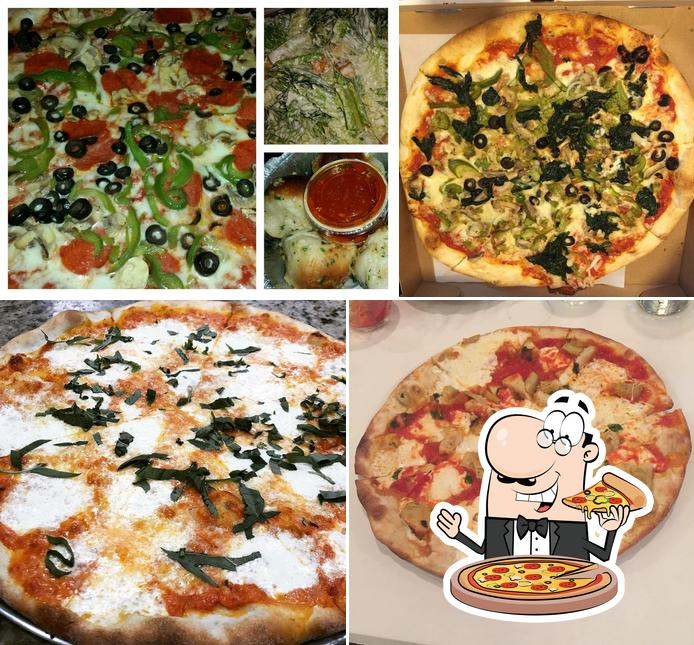 Pick pizza at Pizza Masters
