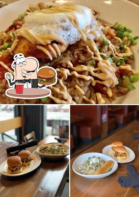 Prueba una hamburguesa en 508 Bar + Restaurant