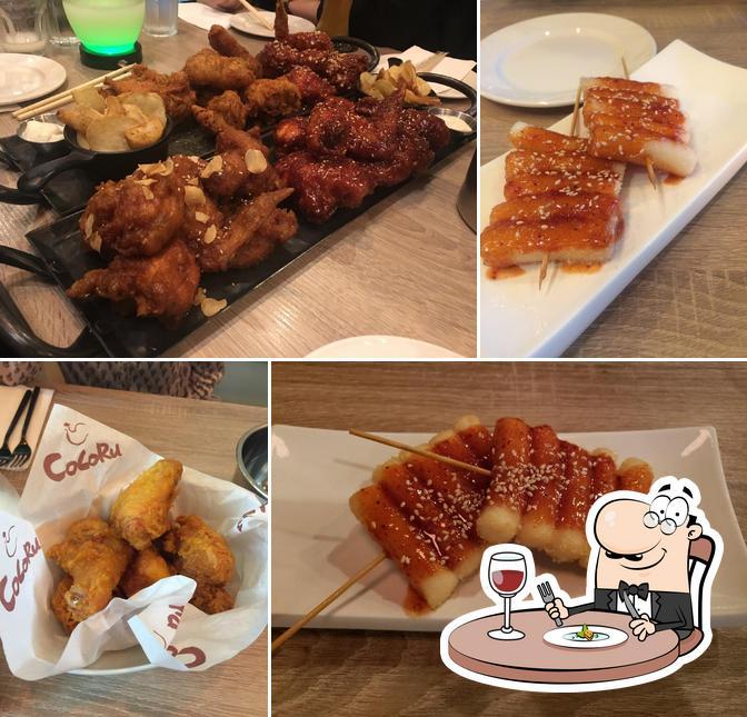 Блюда в Cocoru