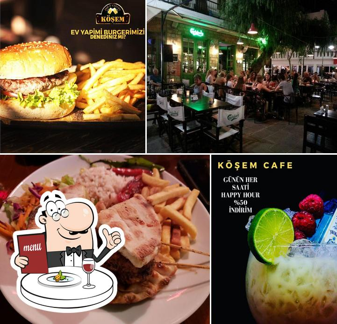 Food at Köşem Cafe & Restaurant & Bar