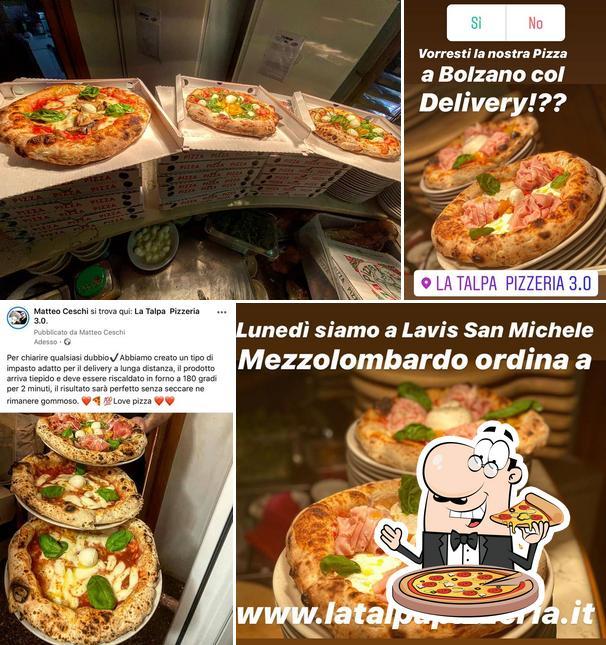 Ordina una pizza a Bar Pizzeria La Talpa