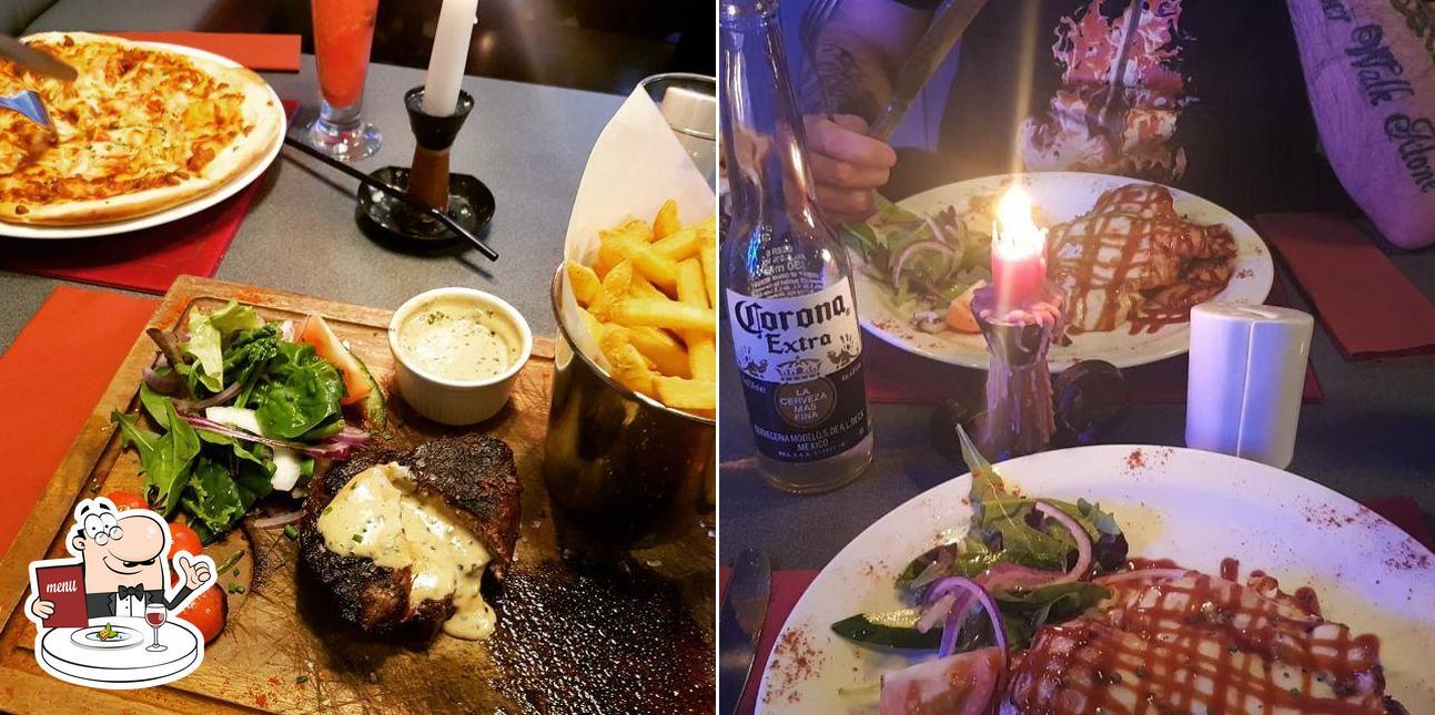 Meals at Manhattan Bar & Grill