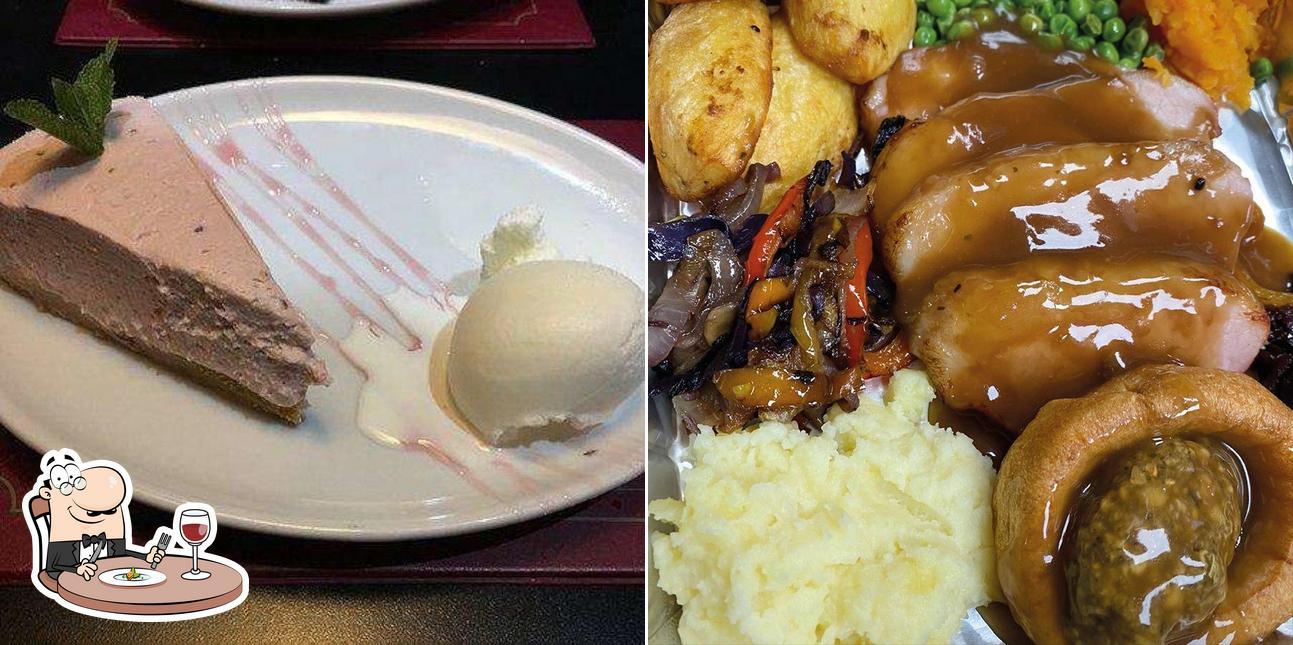 Food at Manhattan Bar & Grill