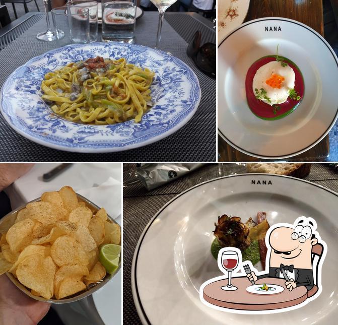 Food at Nana