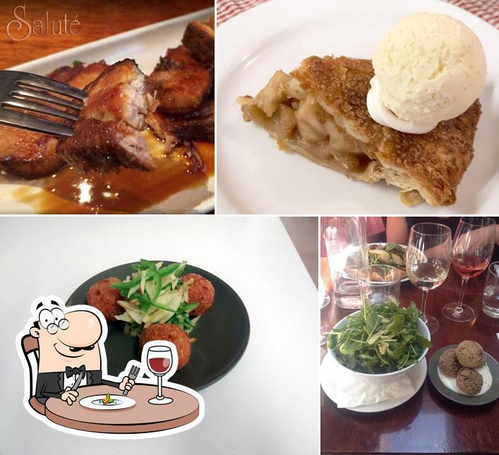 Блюда в Saluté