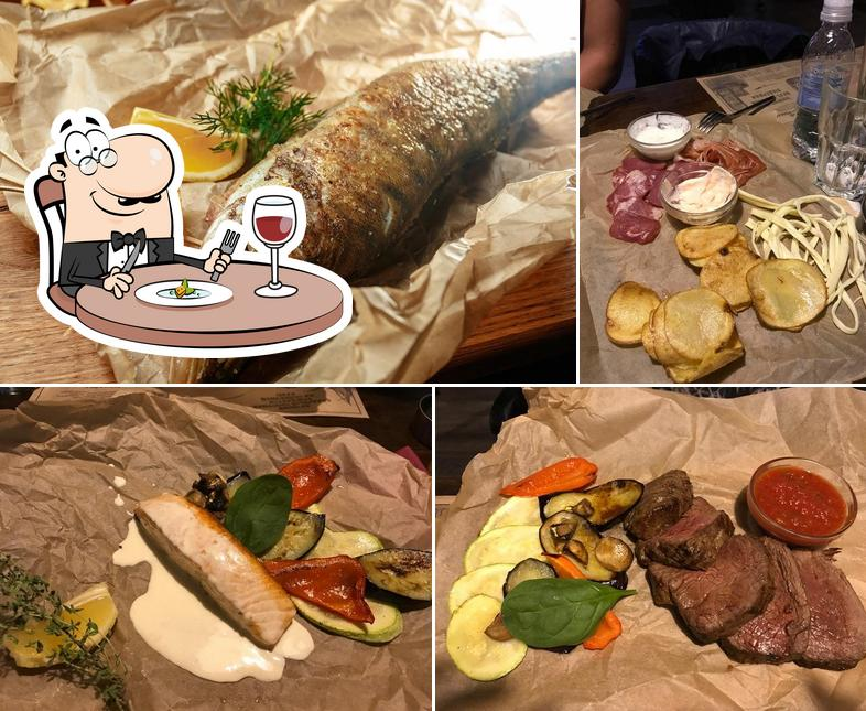 Еда в Серебряная Fabrika
