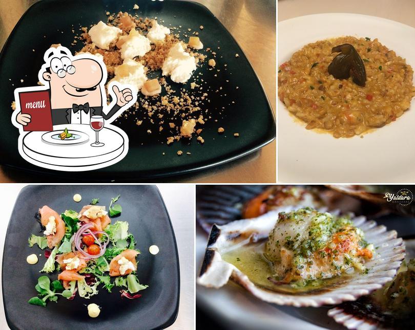 Comida en Restaurante Cafetería Yaldara