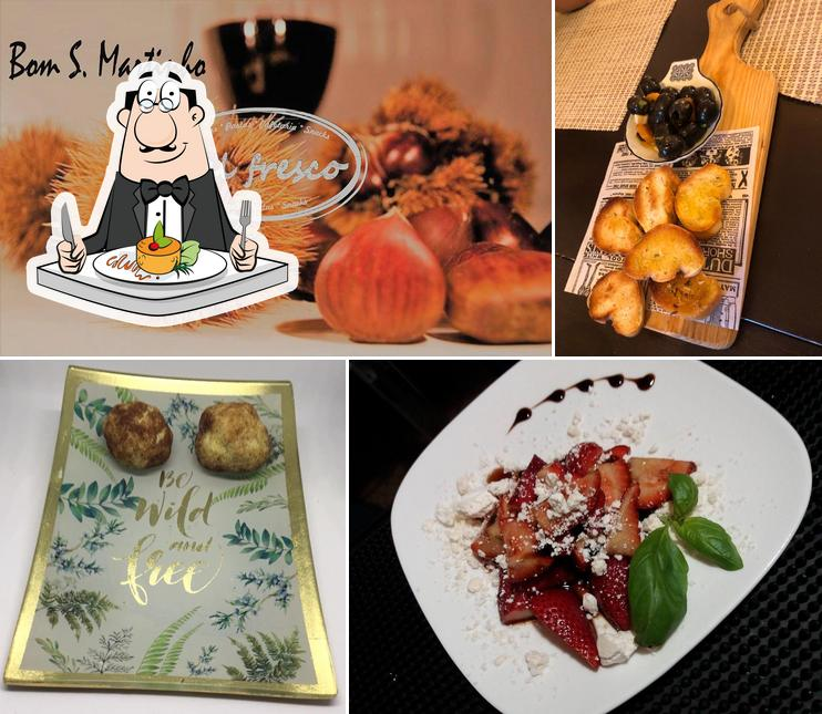 Еда в Al Fresco