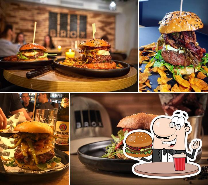 Tómate una hamburguesa en BROX Kitchen&Drinks