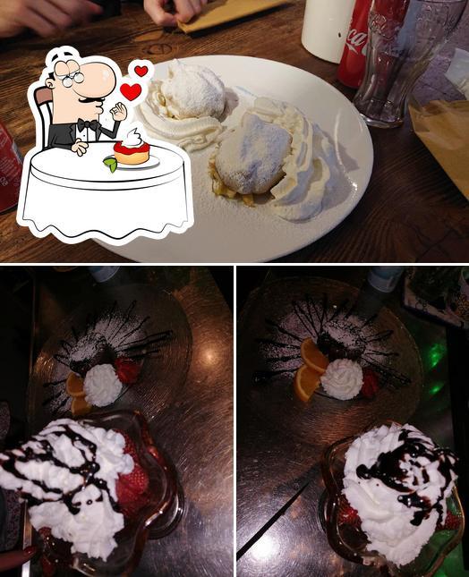 Bar La Brema serve un'ampia gamma di dessert