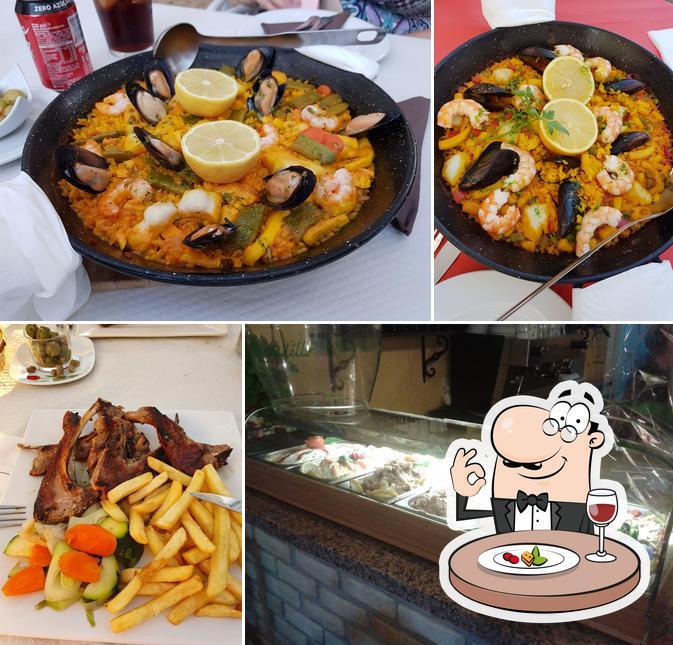 Meals at Bodeguita Santa Maria